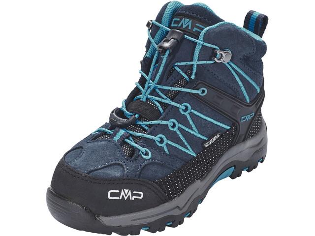 CMP Campagnolo Rigel Mid WP Trekking Shoes Barn asphalt-cyano